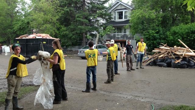 Mormon Helping Hands Efforts for Calgary Alberta