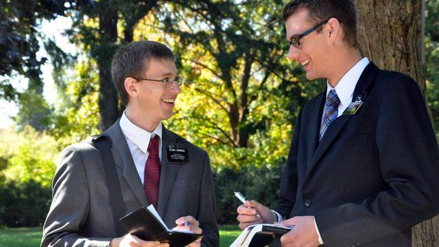 Elder Tyler Johnson and Companion
