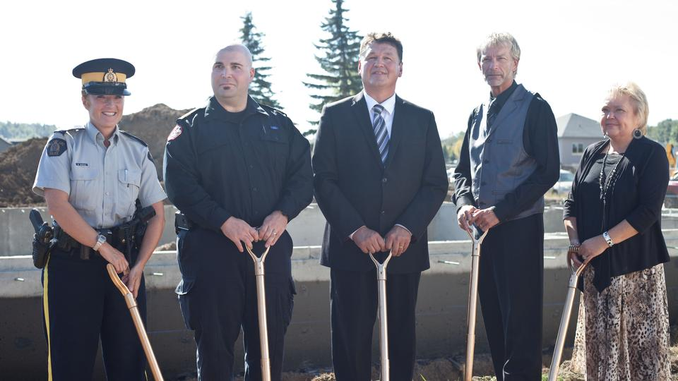 Slave Lake Chapel Groundbreaking