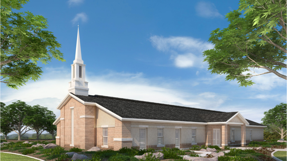 Artist Rendering of the Slave Lake Chapel